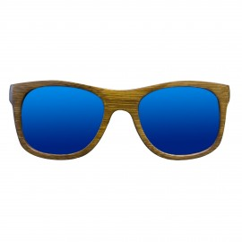 Gafa de Madera Bamboo - Cristal Azul - Mod. Deep Blue