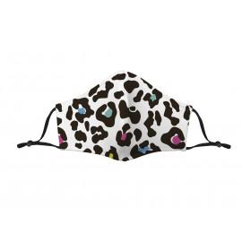 Mascarilla Adulto Higiénica Reutilizable Leopardo Multicolor