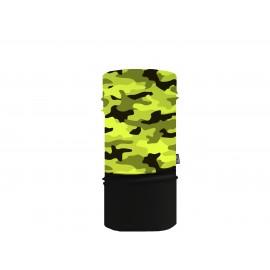 Sherpa Mascarilla Tubular Fluor Militar Yellow