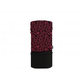 Sherpa Mascarilla Tubular Fluor Stickers Rosa