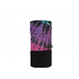 Sherpa Mascarilla Tubular Tie Dye Pink Purple