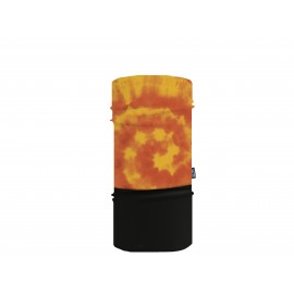 Sherpa Mascarilla Tubular Tiedye Orange